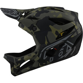 Troy Lee Designs Stage MIPS Kask, camo olive